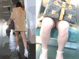 【8/9まで顔出し】ガッツリ豪快に生白パンティ刺繍まで見せるキャバ嬢