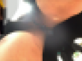 【顔出し】都会の美女のパンティ01