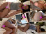 【完全プライベート動画】パンツ丸出しで熟●する美巨乳彼女をこっそり撮影してみました。 ★FULL HD