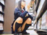 女子校生制服パンチラ 超かわいいセーラー服jkの純白パンツがモロ見え!! Part2